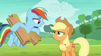 """Rainbow Dash """"emphasis on the slow"""" S8E9"""