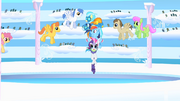 Rainbow bringing Rarity and Wonderbolts to arena S1E16.png