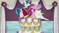Shining Armor and Cadance on a cake BFHHS1