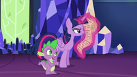 Spike --they were all on a ship that sank-- S6E22