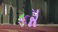 Spike really eager to help S4E06