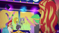 Sunset watching the Dazzlings perform EGSBP