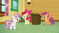 "Sweetie Belle ""Wow, you're right!"" S6E4"
