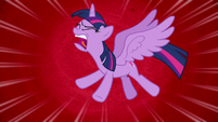 Twilight Sparkle screaming in frustration S8E7