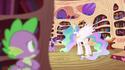 Twilight Sparkle talking to Princess Celestia S2E03