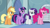 Twilight asks Rainbow if she's okay S5E5