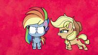 Applejack tells Rainbow to get mad PLS1E2b
