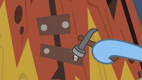 Changeling hammering a nail S8E16