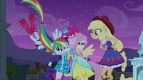 Main 5 in Pinkie Pie hug EG