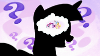 Mane Six in Twilight Sparkle's mind S7E2