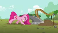 "Pinkie Pie ""plowing fields ain't such a hoot"" S03E13"