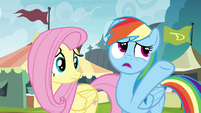 """Rainbow """"some crazy thing way across the Exchange"""" S4E22"""