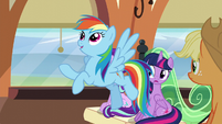 "Rainbow Dash ""it's okay..."" S6E1"