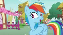 "Rainbow Dash ""you did it again, Pinkie!"" S7E23"
