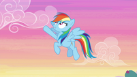 Rainbow Dash excited to win fastest S6E14