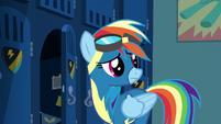 Rainbow Dash hears Spitfire S6E7