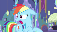 Rainbow Dash makes sawing sounds MLPS2