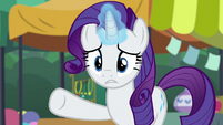 Rarity --something's bothering you-- S6E3