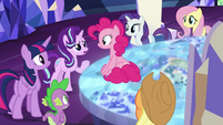 Starlight Glimmer confused by Pinkie's story S8E1