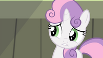 Sweetie worried expression S4E19