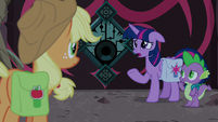 Twilight -all unicorn magic was gone- S8E25
