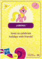 Wave 5 Junebug collector card