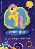 Wave 8 Sunny Rays collector card