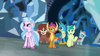 Young Six looking at projection of Twilight S8E22