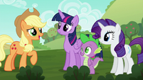 Applejack --so used to doin' everythin' a certain way-- S6E10