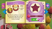 Junebug album page MLP mobile game
