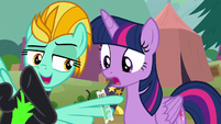 """Lightning Dust """"bring your friends!"""" S8E20"""