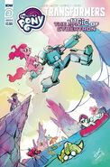 My Little Pony Transformers II issue 3 cover B