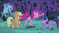 """Pinkie Pie """"...before that thing eats us all!"""" S4E07"""