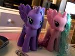 Princess Luna and Celestia toys