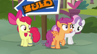"Scootaloo ""have to go without me!"" S9E12"