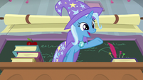 "Trixie ""ponies and other students!"" S9E20"