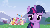 Twilight Sparkle walking away S2E25