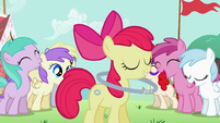 Apple Bloom 'thanks, everypony' S2E06