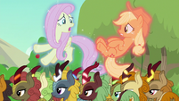 "Fluttershy ""we were arguing with each other"" S8E23"
