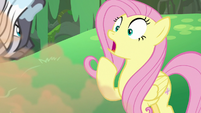 Fluttershy gasping with shock S7E20
