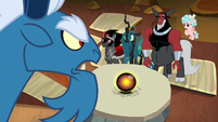 Grogar looks down on other villains S9E1