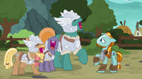 Mighty Helm continues laughing at Rockhoof S7E16