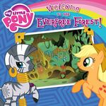 My Little Pony Welcome to the Everfree Forest! storybook cover