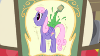 Picture showing a tall pony S4E20