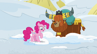 """Pinkie Pie """"I hate it when food burns your mouth"""" S7E11"""