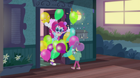 Pinkie Pie appears before Lily as a clown EGDS3