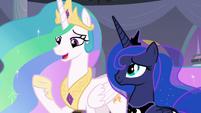 Princess Celestia -now that we're leaving- S9E17