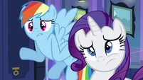 """Rainbow and Rarity """"what are hands?"""" EG"""