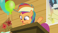 """Scootaloo """"the one and only Rainbow Dash"""" S8E20"""