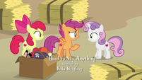 """Scootaloo """"there's no way he'll tell us"""" S7E8"""